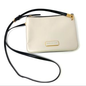 Marc by Marc Jacobs Two Tone Leather Crossbody